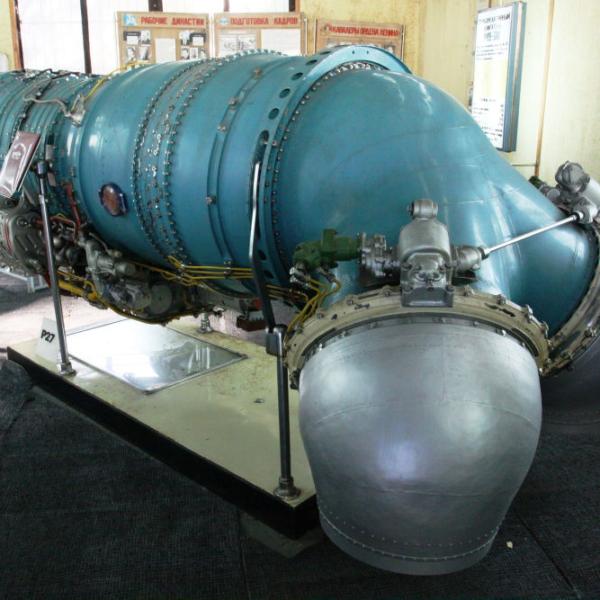 4.Двигатель Р-27В-300. Музей АМНТК Союз.