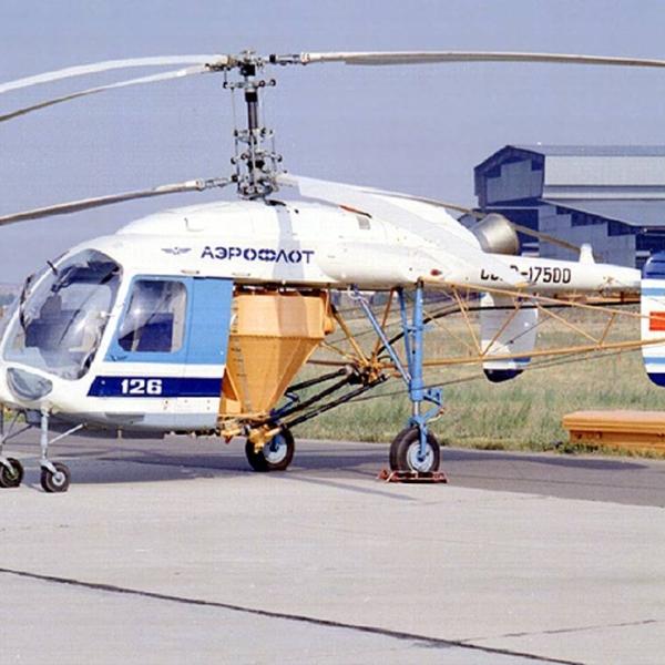 4.Сельскохозяйственный вариант вертолета Ка-126.