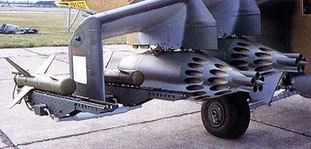 5.9M17 Фаланга-М на вертолете Ми-24.