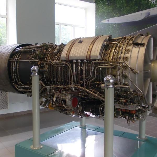 5.Двигатель АЛ-21Ф-3. Музей 218-го АРЗ в г.Гатчина Ленинградской области.