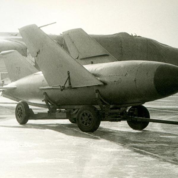 5.КСР-2 на транспортной тележке.