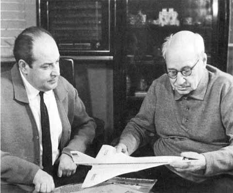 6.Алексей Андреевич и Андрей Николаевич Туполевы. 1969 г.