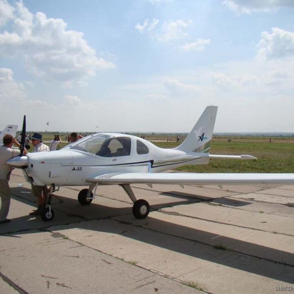 6.Легкий самолет А-33.