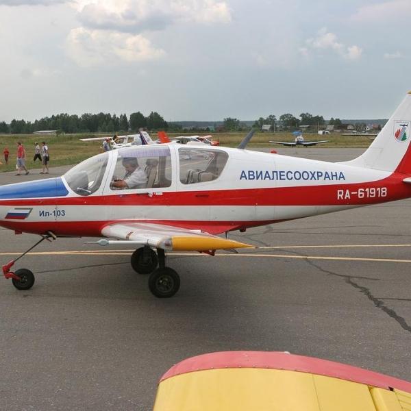 7.Ил-103 АвиаЛесоОхрана - Владимирское ГУАП. Июль 2012 г.