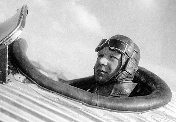 Летчик И.В.Доронин.