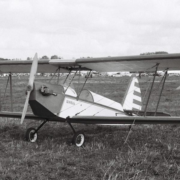 1.Легкий самолет Шмель на слете СЛА-89.