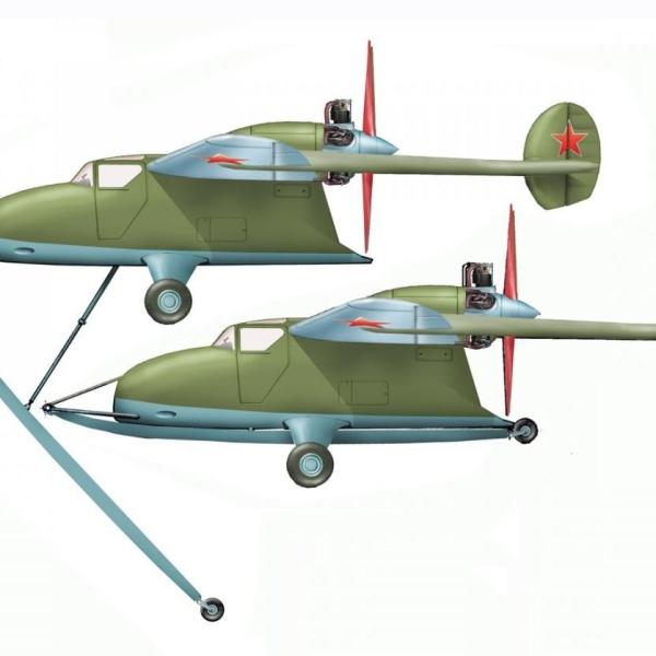 1.Легкий штурмовик ЛТ (САМ-23). Рисунок.