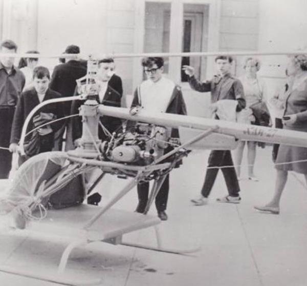 1.Вертолет ХАИ-27 Харьковчанин