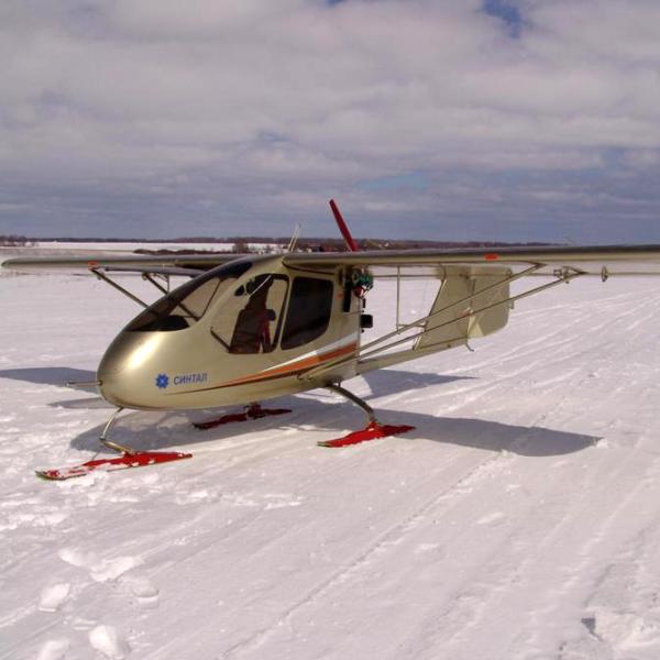14.С-2 Синтал на лыжном шасси.