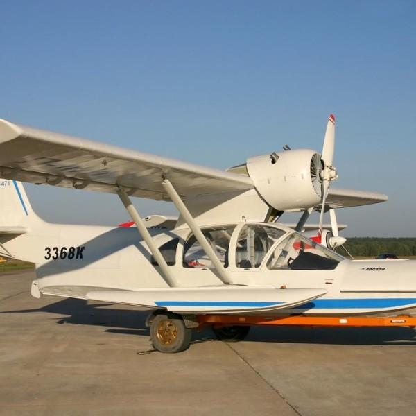 2.Самолет-амфибия Л-471.