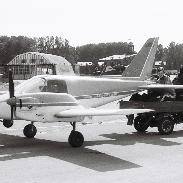 3.И-2 Импульс после поломки носовой стойки.
