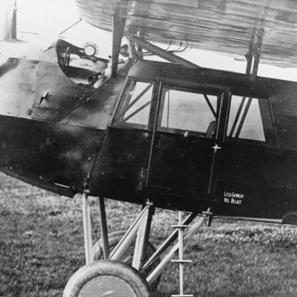 3.Легкий пассажирский самолет Fokker F.III.