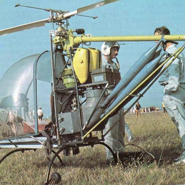 3.Легкий вертолет Ва-1.
