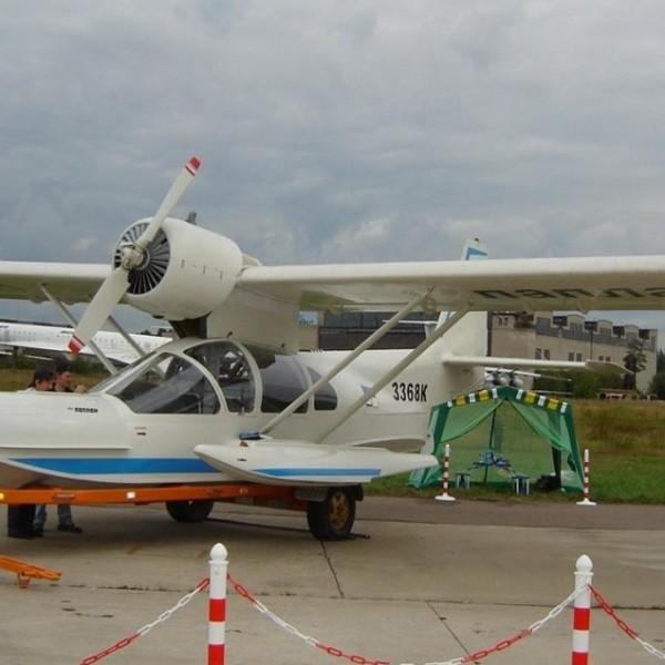 3.Самолет-амфибия Л-471.