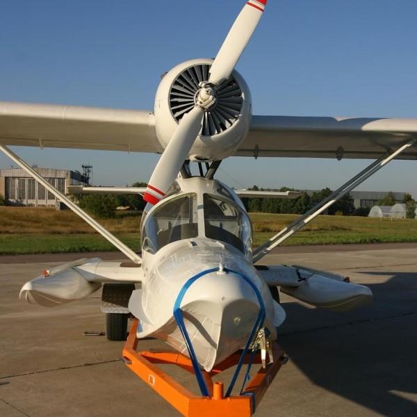 4.Самолет-амфибия Л-471.