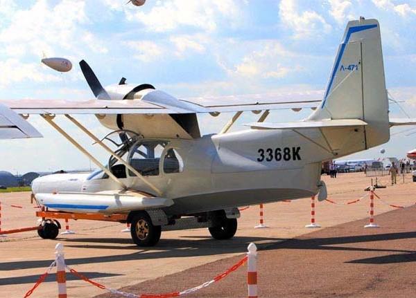 5.Самолет-амфибия Л-471.