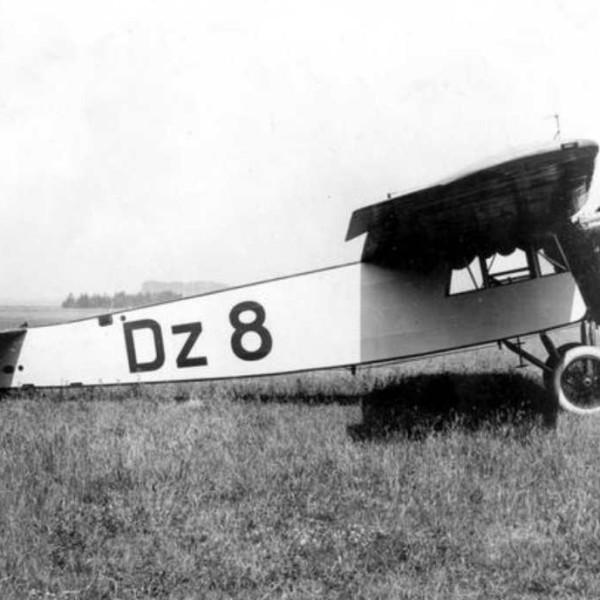 6.Fokker Grulich F.III компании Deutsche Luft Hansa.