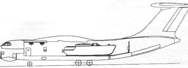 7.Ил-76МДПС. Схема.