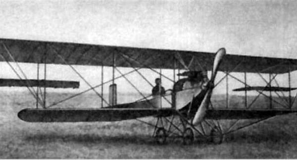 8.Биплан Гаккель-VIII.