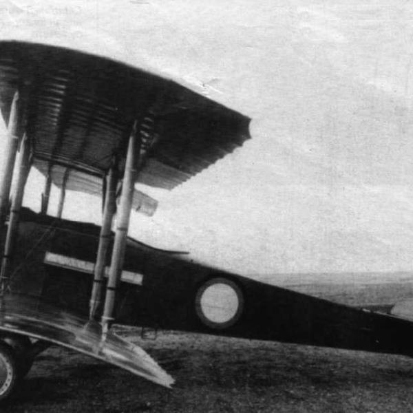 8.Один из первых самолетов Анаде (Анатра-Д).