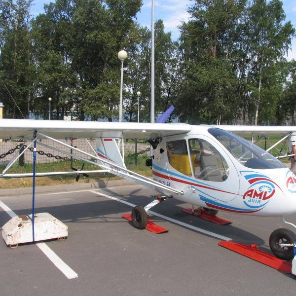 8.С-2СХ Синтал на выставке ИнтерАэроКом 2010, Санкт-Петербург.