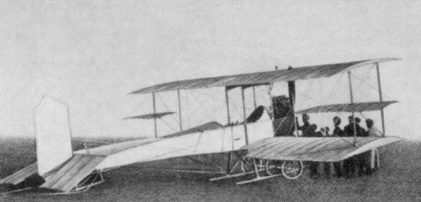 9.Биплан Гаккель-VIII.