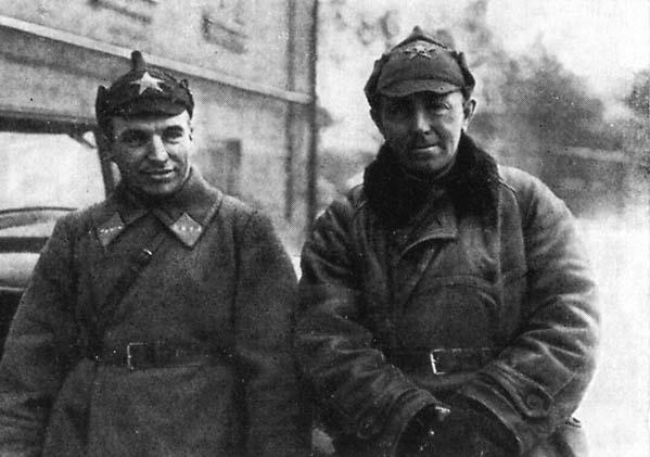 1.Александр Анисимов и Валерий Чкалов.