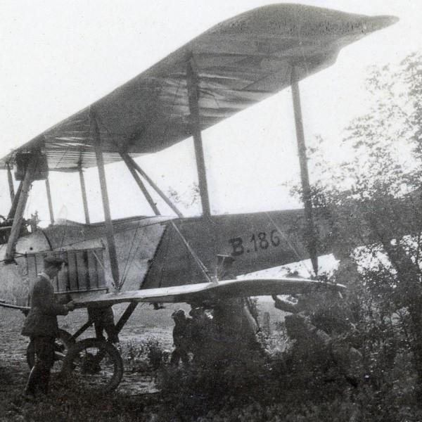 13.Биплан LVG B.I. Снимок 1915 г.