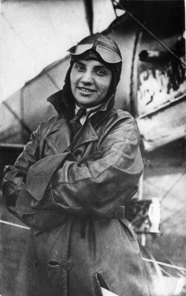 4.Валентина Гризодубова. 1930-е годы.