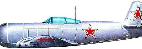 4.Як-3У. Рисунок.