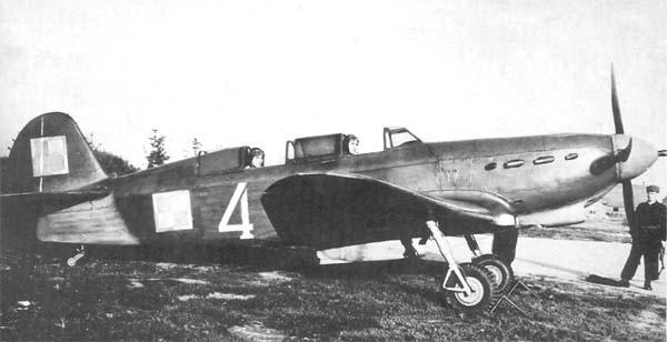 5.Як-7В ВВС Польши
