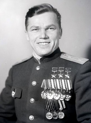 И.Н.Кожедуб в мае 1945 г.