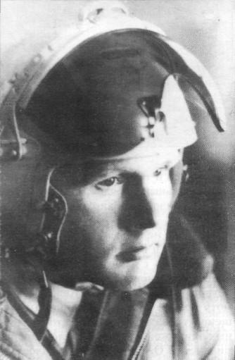 Летчик-испытатель А.А.Щербаков.
