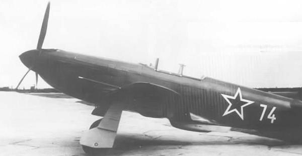 1.Истребитель Як-3П.