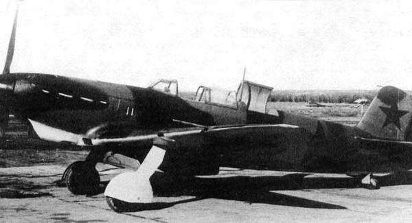 1.Истребитель Як-7ДИ.