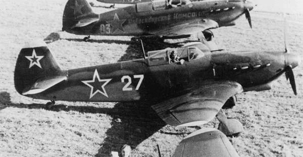 2.Истребитель Як-7ДИ.