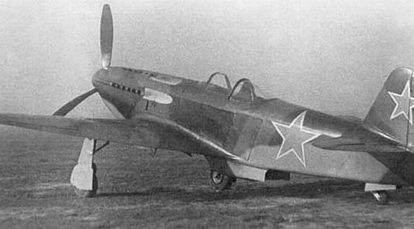 3.Истребитель Як-3 ВК-108.