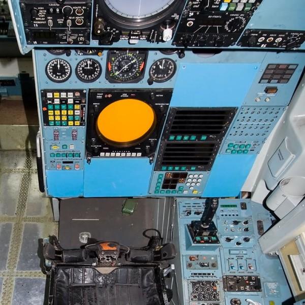 7д.Место штурмана-оператора Ту-160