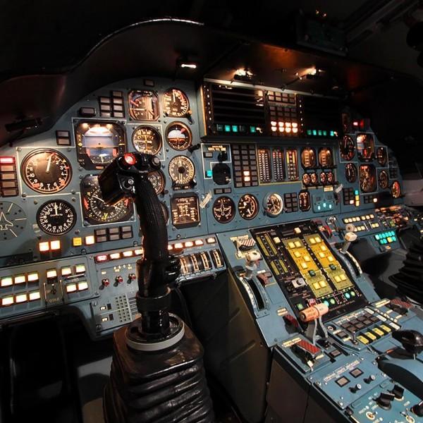 7г.Приборная панель пилотов Ту-160.