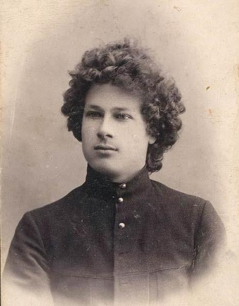 Яков Пауль. Студент Императорского лесного института. 1914 г.
