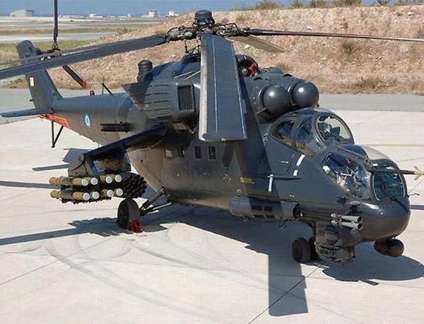 3.Ми-35П ВВС Кипра с ПТРК Штурм-В.