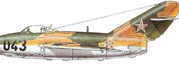 6.МиГ-15Рбис ВВС ВНР. Рисунок.
