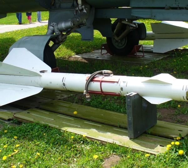 Ракета Р-24Р в экспозиции музея.