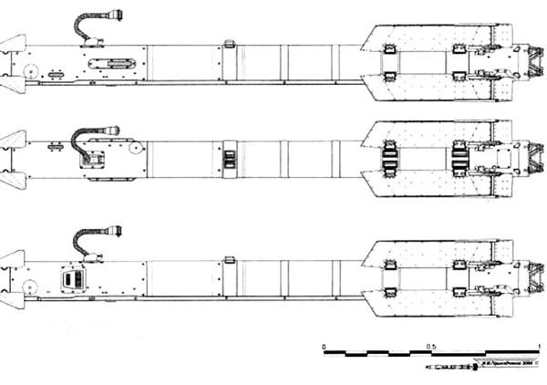 2.Проекции ракеты Р-73.