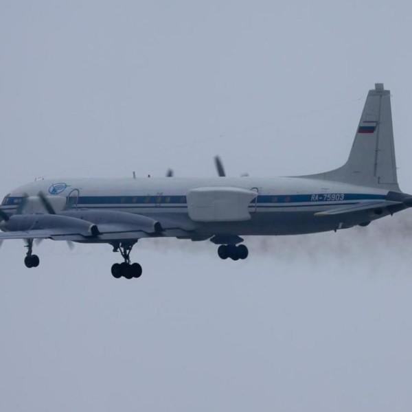 6.Ил-22ПП после взлета.