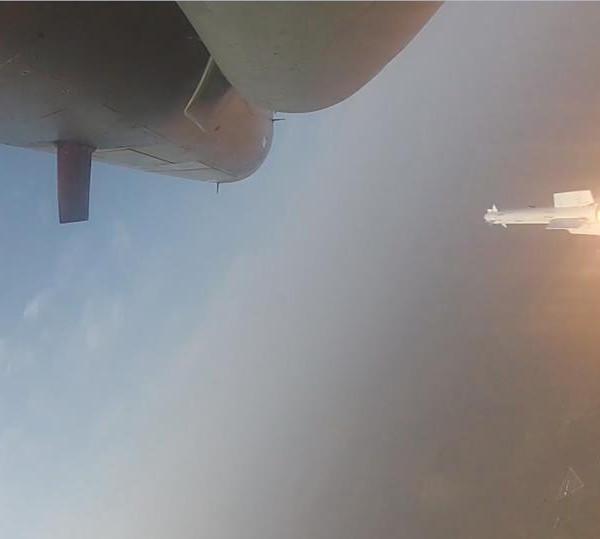 6.Пуск ракеты Р-73Э с истребителя Tejas ВВС Индии.