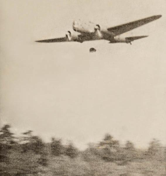 Минометание с ДБ-ЗТ неконтактных индукционных донных мин МИРАБ. 1940 г.