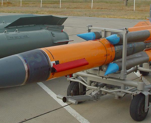 Ракета Х-31П на транспортировочной тележке.