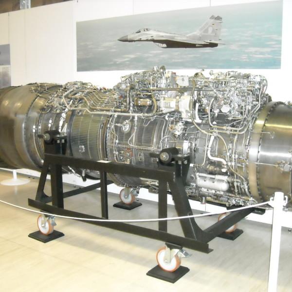 4.Двигатель РД-33 в берлинском авиамузее.