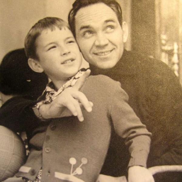 Г.К.Мосолов с сыном Георгием.